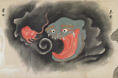 Illustrations of weird creatures and fabulous beasts from a Japanese 'Monster Scroll' Folklore Japonais, Art Japonais, Weird Creatures, Mythical Creatures, Fabulous Beasts, Yuki Onna, Pot Pourri, Japanese Mythology, Japanese Monster