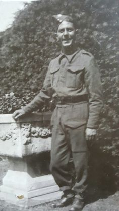 Walter Johnson in Beirut 1945. Great nanny Ethel's brother