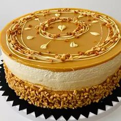 Vanilla Cake, Creative Cakes, Cheesecake, Mousse, Dessert Recipes, Food And Drink, Birthday Cake, Sweets, Cookies