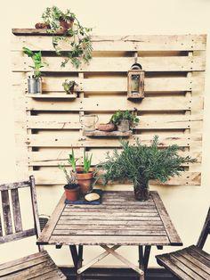 Bancale fiorito giardino