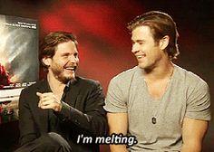 1k Chris Hemsworth daniel bruhl daniel brühl gifs: bruhl i
