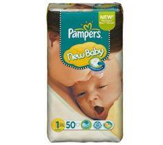 PAMPERS Pannolini New Baby Taglia 1 newborn (2-5 kg) - Gigante 1 x 50 pannolini di Pampers € 424,95