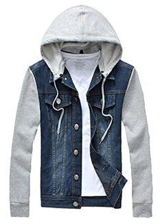 Coofandy Men's Turn Down Denim Patchwork Casual Jacket Co... http://www.amazon.com/dp/B018S5DNGG/ref=cm_sw_r_pi_dp_JRwvxb0E6KSJ8
