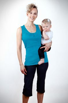 The Motion Tank. For Hiking & Nursing  Photo from momzelle.com.
