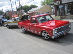 71 c10 deluxe and my 72 c10