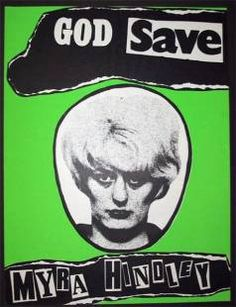 This is a poster that Jamie Reid Created. This is very controversial because Myra Hindley was a murder who killed 5 children. I think what Jamie Reid did was very controversial. He has used typography, photography and college to create this poster. The only reason why I have pined this image is because I like how controversial he is and I also like the materials that he has used to create it, by looking at this image you can see that hasn't used software to create it.