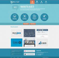 Bota Iusti portfolio website