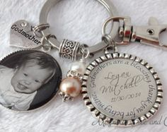 GODFATHER GODMOTHER Personalized Gift for by MagnoliaTreeandCo