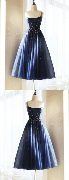 Long Prom Dress, Short Prom Dress, Blue Prom Dress, Homecoming Dresses 2018, Navy Prom Dress, Prom Dress A-Line #Homecoming #Dresses #2018 #Short #Prom #Dress #Blue #ALine #Navy #Long #HomecomingDresses2018 #NavyPromDress #LongPromDress #PromDressALine #BluePromDress #ShortPromDress