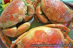 Caranguejo do Alasca ao Leite de Coco » Guloso e Saudável