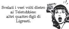POSTilla 74: #Ligresti e i #Teletubbies