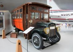 On the 20th June I reported from the Evergreen Air Museum at McMinnville in Oregon; where surprisingly an old bus was on display ~ Stoughton Bus
