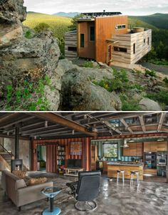 Container House - Shipping Container Homes That Will Blow Your Mind – 15 Pics Who Else Wants Simple Step-By-Step Plans To Design And Build A Container Home From Scratch? Container Hotel, Building A Container Home, Container Buildings, Container Architecture, Container House Plans, Container Home Designs, Architecture Design, Shipping Container Homes, Shipping Containers