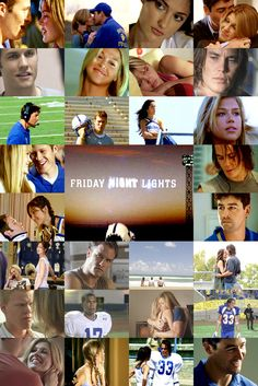 friday night lights. One of the best shows I've ever seen
