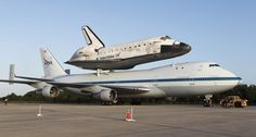 Space shuttle Discovery heads to museum in DC on April 17, 2012