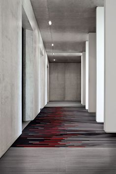 The Moment Collection, influenced by the concept of 'art in memory.' #modularcarpet #hospitalitydesign #floorcovering