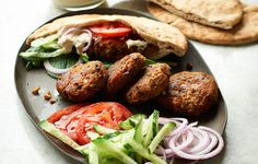 This new take on falafel combines sweet potatoes and black beans instead of using more traditional chickpeas.