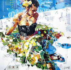 Derek Gores Derek Gores, Collage Techniques, Mixed Media Artwork, Fashion Collage, Collage Artists, Psychedelic Art, Female Art, Illustrators, Artsy