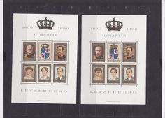 1246 Luxembourg Stamps MNH Complete Sheet Great LOT Quality & Selection X5