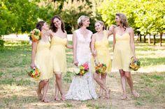 Western Wedding Bridesmaid Dresses Backyard Wedding Dresses, Summer Wedding Gowns, Outdoor Wedding Dress, Spring Wedding, Summer Bridesmaid Dresses, Yellow Bridesmaid Dresses, Affordable Bridesmaid Dresses, Cowgirl Wedding, Western Wedding Dresses