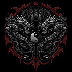 custom yin yang tattoo - Google Search
