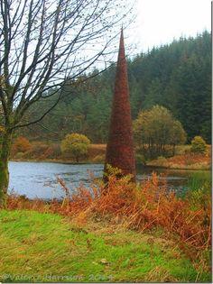 The Eye, Black Loch, Galloway Forest Park, Dumfries & Galloway. ©Valerie Harrison 2014