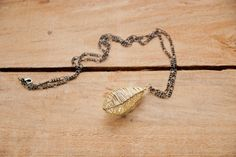 Necklace Pendant Drop Cage in Champagne and by lottalosten on Etsy, $39.00