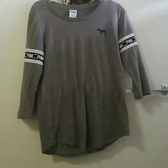 Victoria secret long sleeve Used only 3 times good condition Victoria's Secret Tops Tees - Long Sleeve