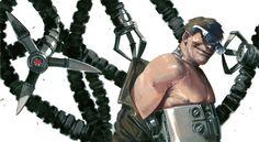 X-men comics Captain America Magneto Thor Marvel loki avengers spider-man Daredevil fantastic four Doctor Doom Gabriele Dell'Otto Doctor Octopus Red Skull bullseye Comic Book Characters, Marvel Characters, Comic Character, Comic Books Art, Marvel Villains, Marvel Comics Art, Marvel Marvel, Marvel Heroes, Mark Hamill