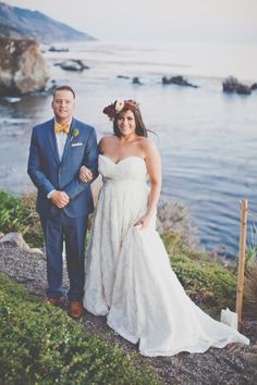Big Sur Wedding // by Evynn LeValley Photography {Cliffside Anderson Canyon}