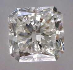 1-Carat Radiant Cut Diamond    This Fancy-cut H-color, and VVS1-clarity diamond comes accompanied by a diamond grading report from GIA    $4121.25