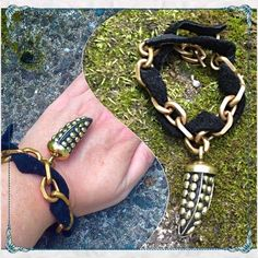 """🌟Beltshazzar Artisan Brass Beaded Cairo Bracelet 🌟Amazing Beltshazzar Jewels Cairo Bracelet w/ Beaded Brass & Black Leather                          ✨artisan designed and handmade in USA           ✨tusk measures 1.5"""" and bracelet measures 7.5/8"""" with adjustable sizing bracket                     ✨all real quality materials!                                     ✨see other amazing Beltshazzar Jewels pieces in my closet, all worthy of starting a collection!🙆🏻 Beltshazzar Jewelry Jewelry…"""