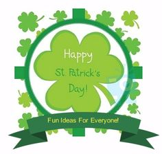 Enjoy St. Patrick's Day with more fun with these ideas.