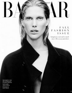 Harpers Bazaar Editorial September 2013 - Iselin Steiro by Daniel Jackson Fashion Cover, Fashion Shoot, Editorial Fashion, Daniel Jackson, Fashion Articles, Fashion Images, Dedicated Follower Of Fashion, Image Cover, Beauty Shots