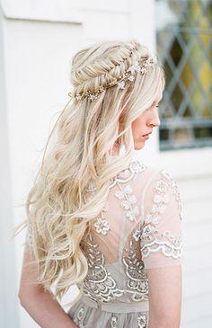 Gorgeous Braided Bridal Hair Inspiration