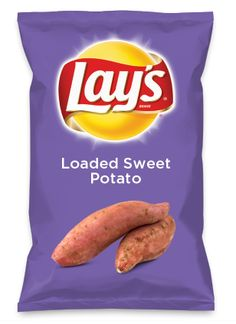 Wouldn't Loaded Sweet Potato be yummy as a chip? Lay's Do Us A Flavor is back, and the search is on for the yummiest flavor idea. Create a flavor, choose a chip and you could win $1 million! https://www.dousaflavor.com See Rules.