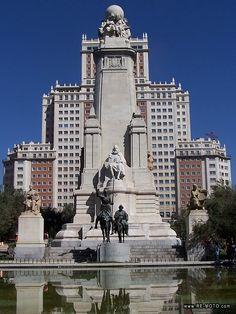 Plaza España, Madrid - España