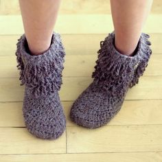My Cozy Boots....Okay will someone please make these for me?  I'll pay.  LOL
