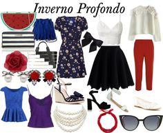 Outfit primaverile IP by Lara LaBiche Dark Autumn, Dark Winter, Rock Chic, Deep Winter Colors, Grunge, Fall Capsule Wardrobe, Rocker, Colourful Outfits, Winter Accessories