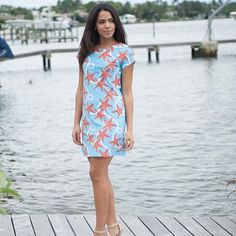 Make a spring style statement in Sea Star.