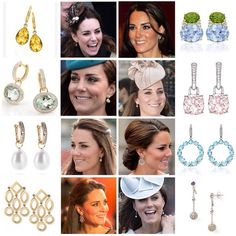 Some of my personal favorites of Kate's earring collection! I'm hoping to do more of her jewelry in the future