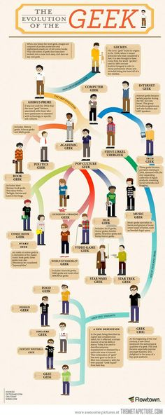 The Evolution of the Geek…