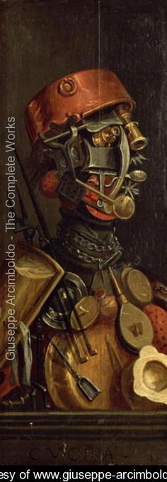 """""""Dining hall"""" with emphasis on the hall, haha. -  The Cook, Arcimboldo."""