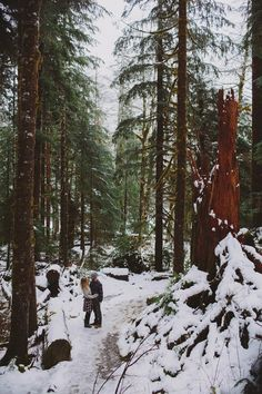 Snowball fights, hot cocoa session and campfires are all fair game for a winter engagement shoot.