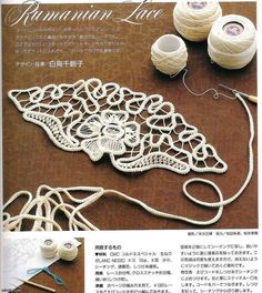 *El rincón de las Manualidades de Siry*: Tejido Rumano paso a paso Romanian Lace - Can't read a word of it, but the charts are pretty clear and the resultThis Pin was discovered by AYCIt is a website for handmade creations,with free patterns for cro Crochet Diy, Spiral Crochet, Gilet Crochet, Mode Crochet, Crochet Cord, Crochet Motifs, Freeform Crochet, Irish Crochet, Crochet Stitches