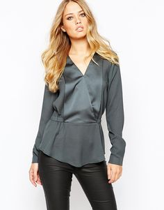 Image 1 ofY.A.S Anny Top With Long Sleeves