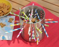 IKEA cutlery stand becomes a game of skill - Limmaland toddlers and preschool children IKEA ORDNING Art Activities For Toddlers, Games For Kids, Diy For Kids, Crafts For Kids, Montessori Materials, Diy Games, Reggio, Toddler Preschool, Diy Toys