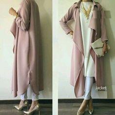 blush pink hijab- Neutral hijab outfit ideas www. blush pink hijab- Neutral hijab outfit ideas www. Hijab Outfit, Hijab Dress, Islamic Fashion, Muslim Fashion, Modest Fashion, Mode Outfits, Fashion Outfits, Moslem, Hijab Look