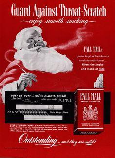 I don't know . . . I think I liked pipe-smoking Santa better