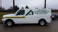 This is a brand new vehicle completed by Speedpro Imaging London for Brett at Provincial Glass. They are gradually replacing their entire fleet...informative and gets the fleet working for them!